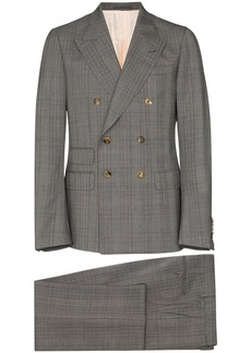 Gucci checked wool dinner suit