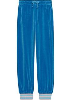 Gucci Chenille jogging pant