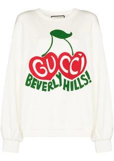 Gucci cherry print sweatshirt