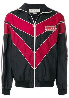Gucci chevron track jacket
