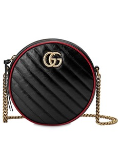 Gucci Circle Gg Marmont Torchon Leather Bag