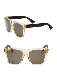 Gucci Classic 53MM Square Sunglasses