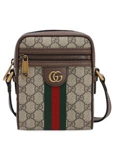 Gucci Coated Gg Supreme Ophidia Flight Bag