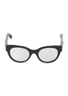 Gucci Core 48MM Cat Eye Optical Glasses