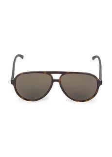 Gucci Core 60MM Aviator Sunglasses
