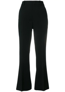 Gucci crop flare tailored trousers