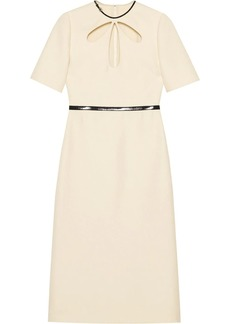 Gucci cut-out details sheath dress