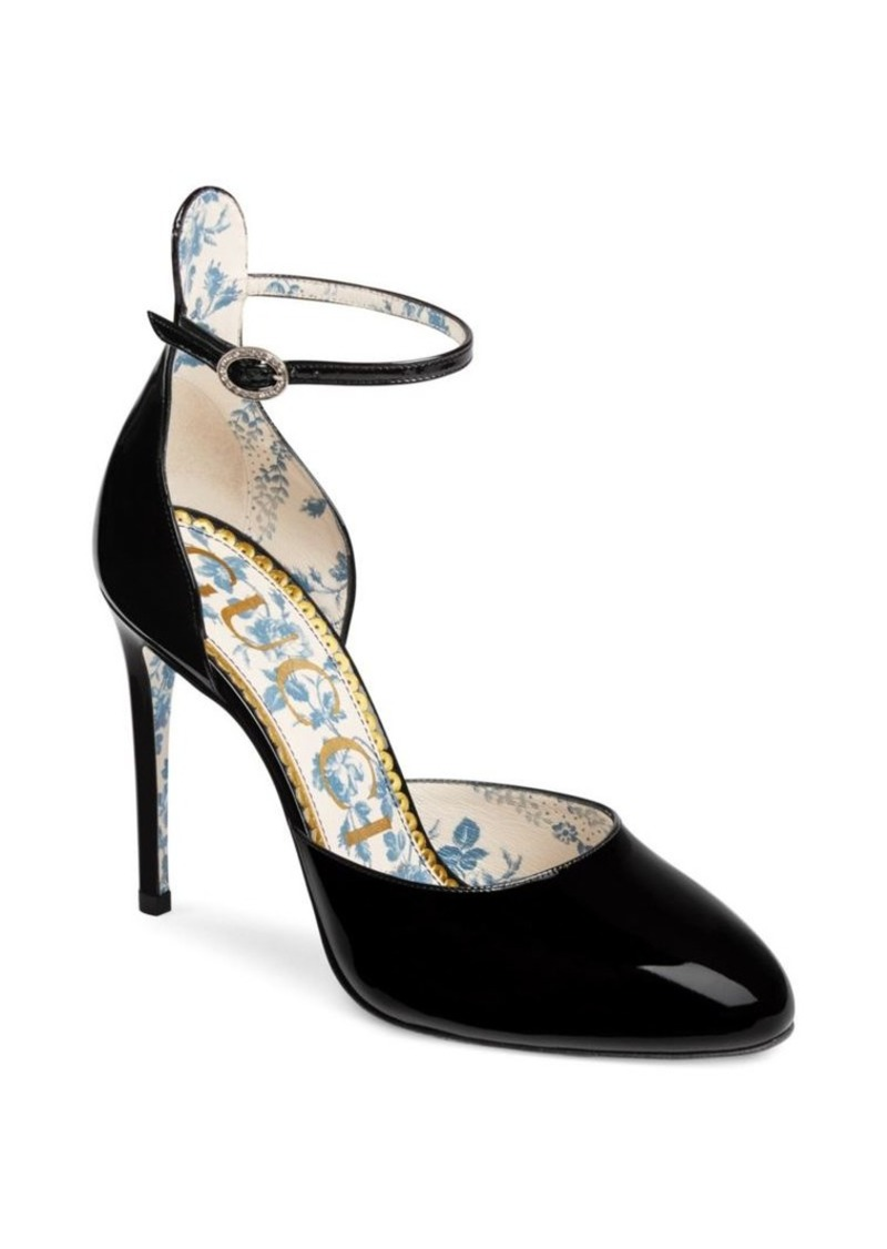 0edb1094f223 Gucci Patent Leather Pumps