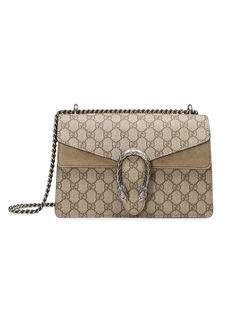 9003dd03fdb Gucci Linea E Bamboo elaphe-paneled leather tote