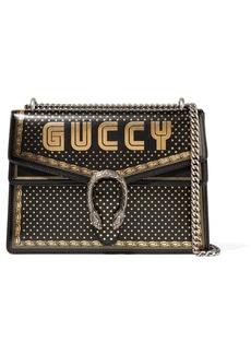 Gucci Dionysus Printed Textured-leather Shoulder Bag