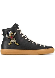 Gucci Donald Duck hi-top sneakers