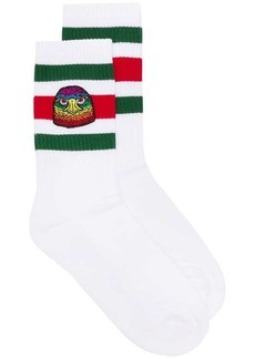 Gucci eagle patch socks