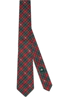Gucci embroidered tie