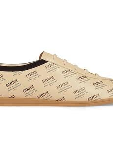Falacer Gucci invite print sneaker