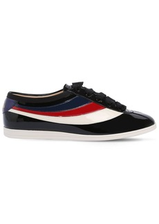 Gucci Falacer Patent Leather Sneakers