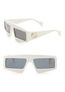 Gucci Fashion Show Ivory Mask Sunglasses/61MM