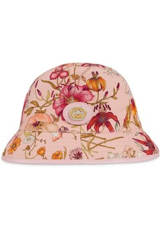 Gucci Fedora hat with floral print