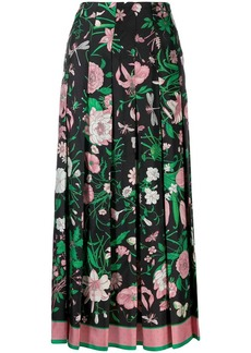 Gucci Flora print skirt