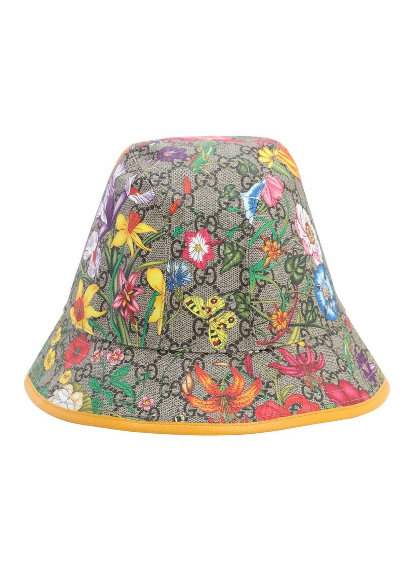 Floral Gg Supreme Bucket Hat