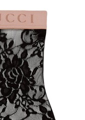 Gucci floral lace ankle socks