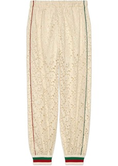 Gucci Flower lace jogging pant