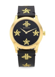 Gucci G-Timeless Gold Star & Bee Watch