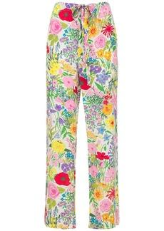 Gucci Garden Printed Jacquard Pajama Pants