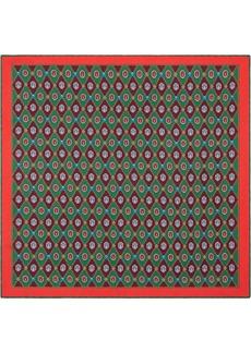 Gucci Geometric Jewel Print Pocket Square