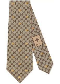 Gucci GG bees tie