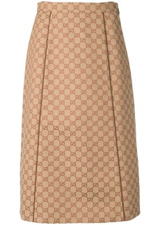 Gucci GG canvas skirt