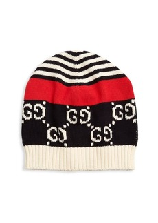 Gucci GG Dorian Striped Hat