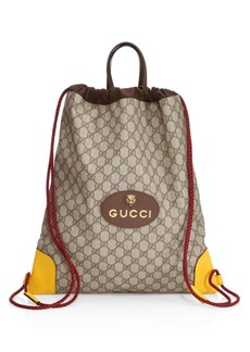 Gucci GG Drawstring Backpack