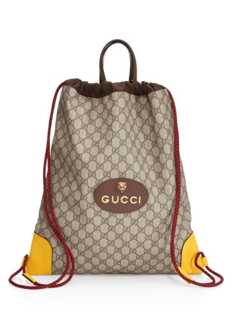 15650f2eeb3 Gucci GG Drawstring Backpack