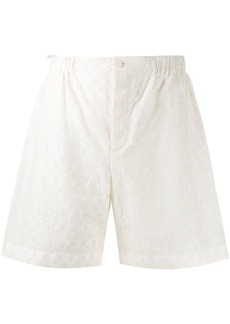 Gucci GG embroidered shorts