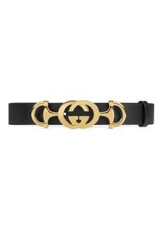 Gucci GG Horsebit Belt