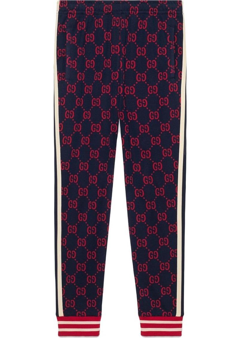 Gucci GG jacquard jogging pants