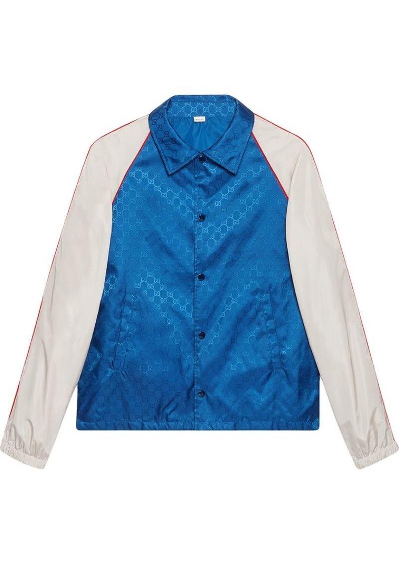 7e4ae81e9 Gucci GG jacquard nylon jacket | Outerwear