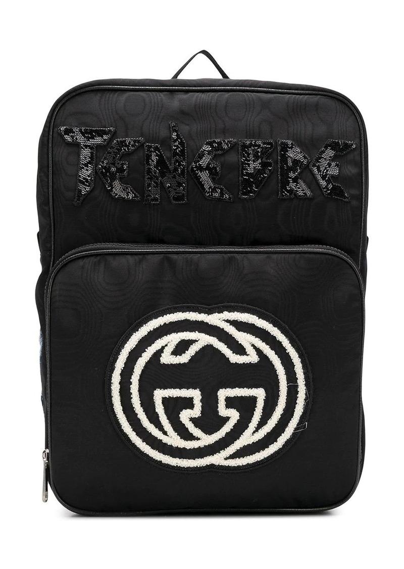 Gucci GG logo backpack
