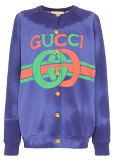 Gucci GG logo cardigan