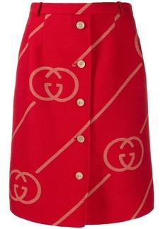 Gucci GG logo skirt