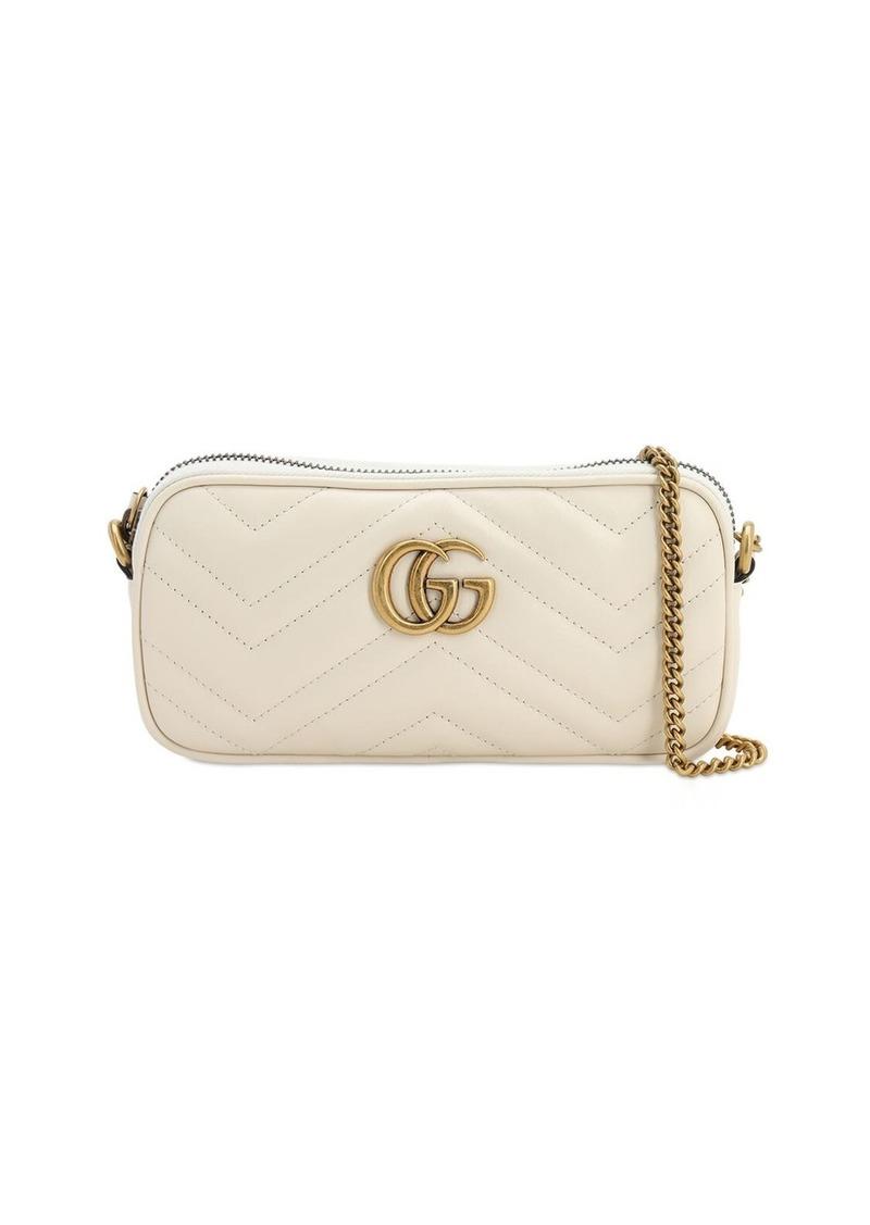 Gucci Gg Marmont 2.0 Leather Shoulder Bag