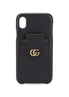 Gucci GG Marmont leather iPhone XR cover
