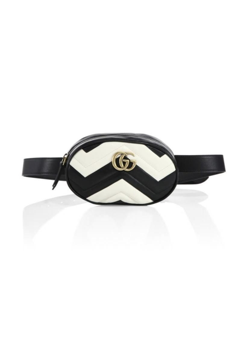88a2a95e0391 Gucci GG Marmont Matelassé Leather Belt Bag | Handbags