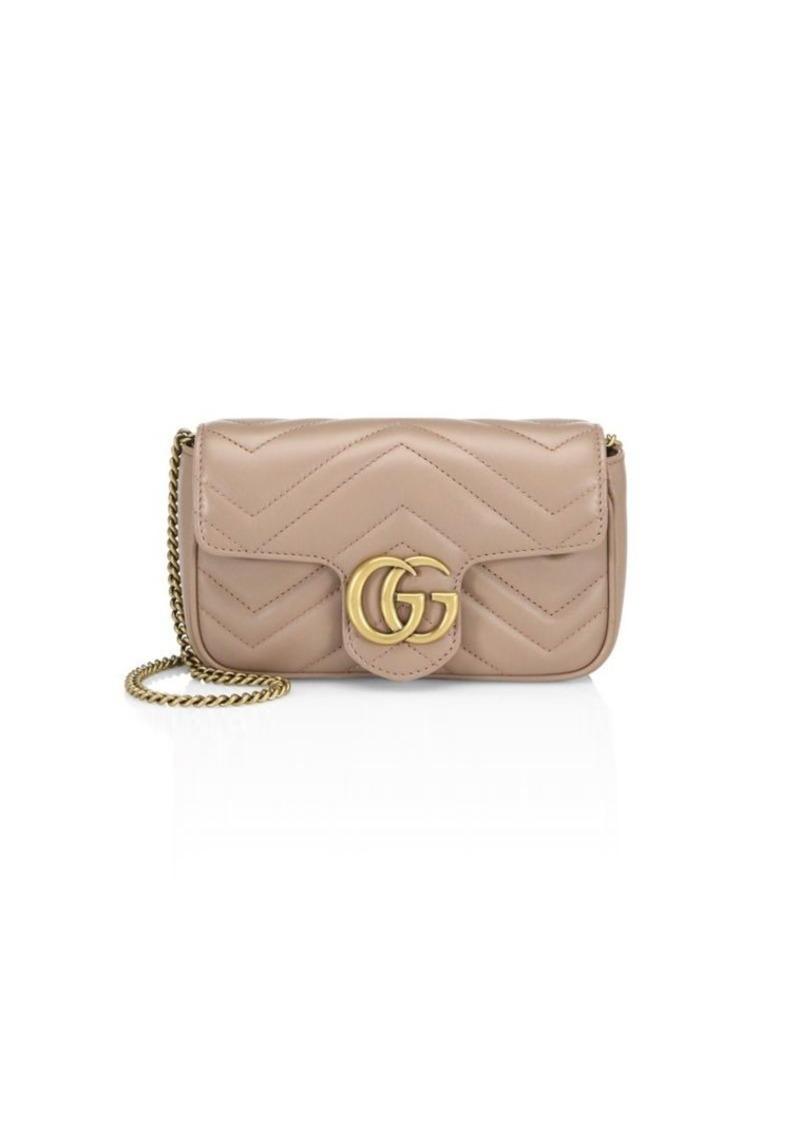 4402d599a Gucci GG Marmont Matelassé Leather Mini Chain Camera Bag   Handbags