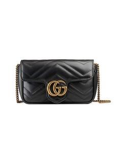 7ff0299df2cc Gucci Gucci GG Marmont Matelassé Imitation Pearl Leather Shoulder ...