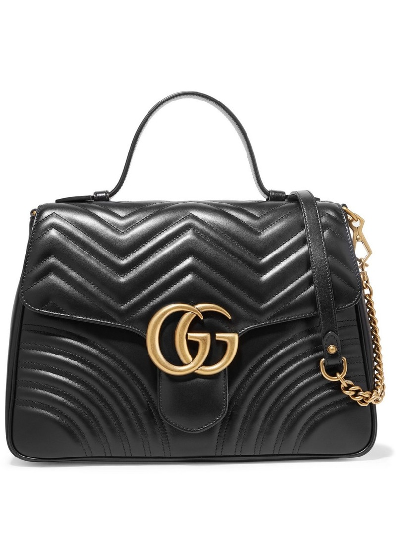 d645bc9ca Gucci Gg Marmont Medium Quilted Leather Shoulder Bag | Handbags