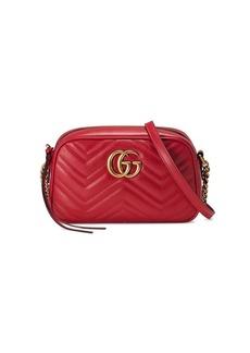 Gucci Marmont small matelassé leather shoulder bag
