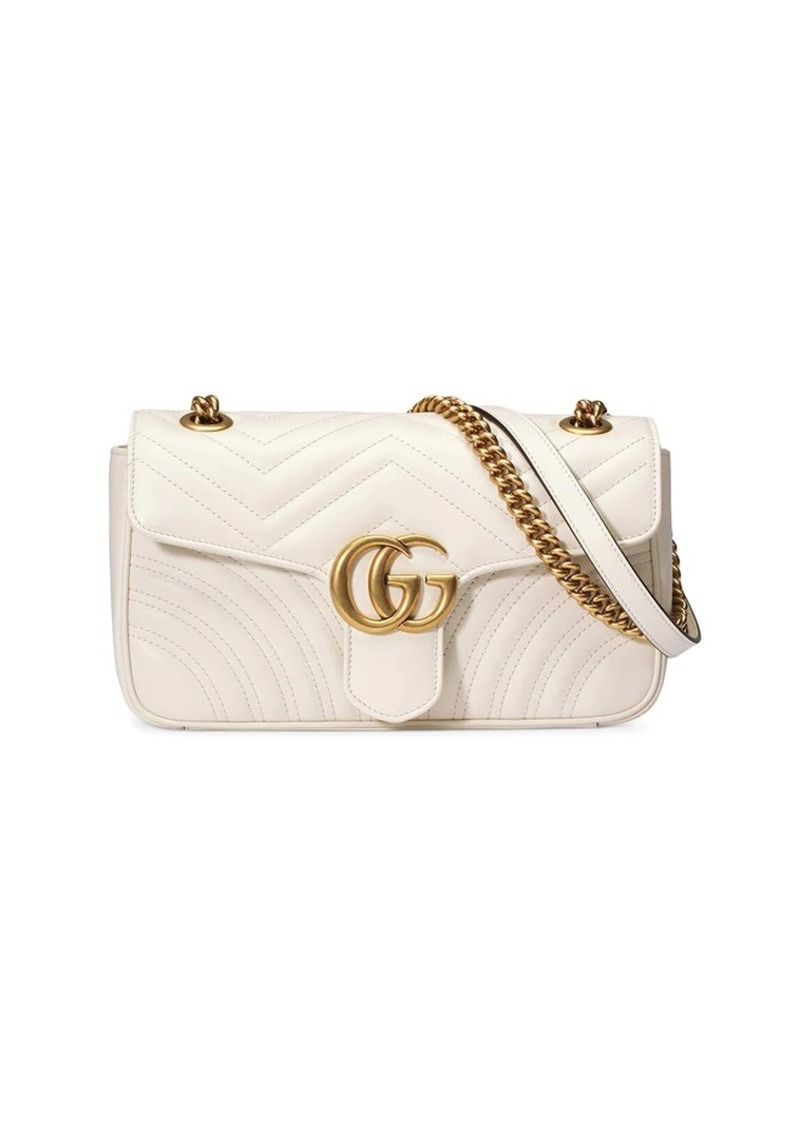 228773e3a30212 Gucci GG Marmont small matelassé shoulder bag | Handbags