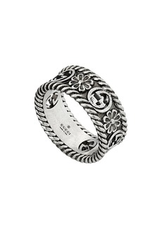 Gucci GG motif cut-out ring