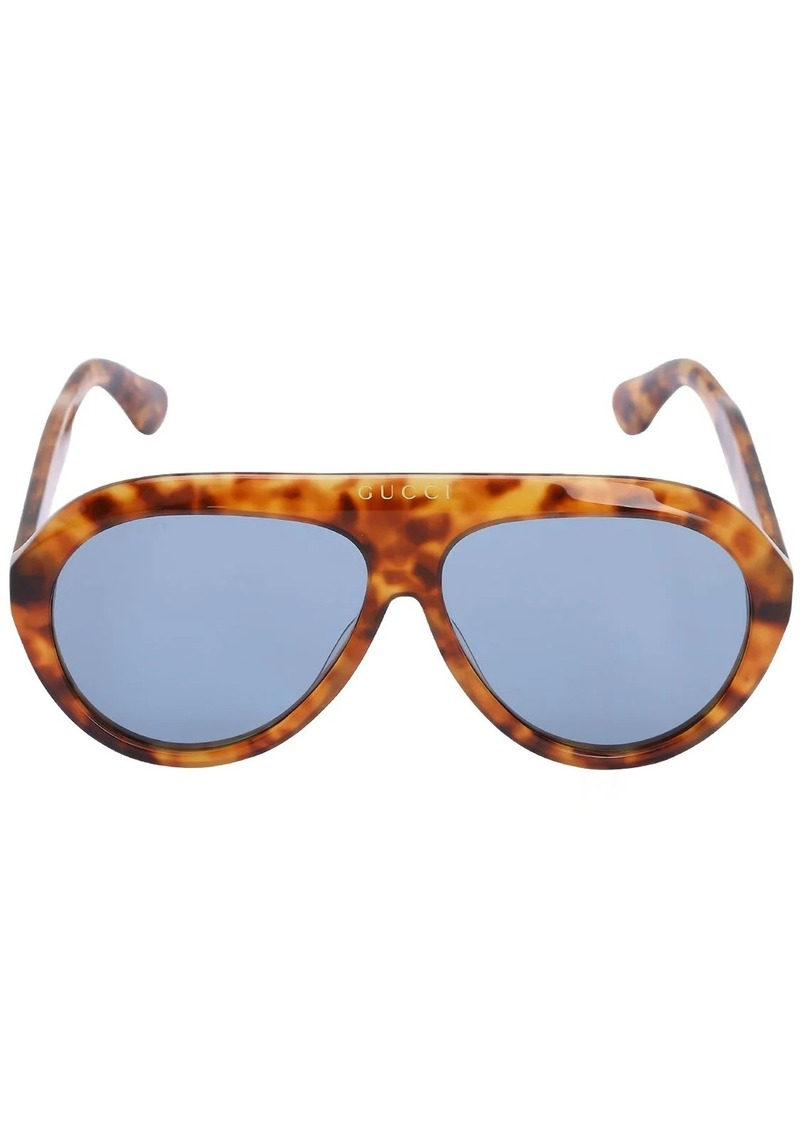 Gucci Gg Navigator Acetate Sunglasses